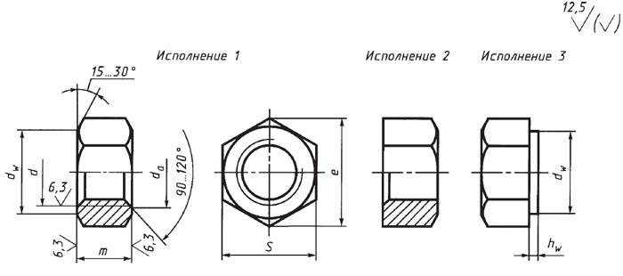 Производство и продажа гайки гост 5915-70 классов 6. 0, 8. 0, 10. 0.